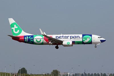 "PH-HSI Boeing 737-8K2 c/n 42148 Amsterdam/EHAM/AMS 21-05-18 ""Peter Pan"""