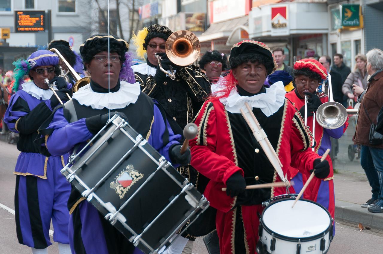 Musicians in the street of Utrecht, Netherlands
