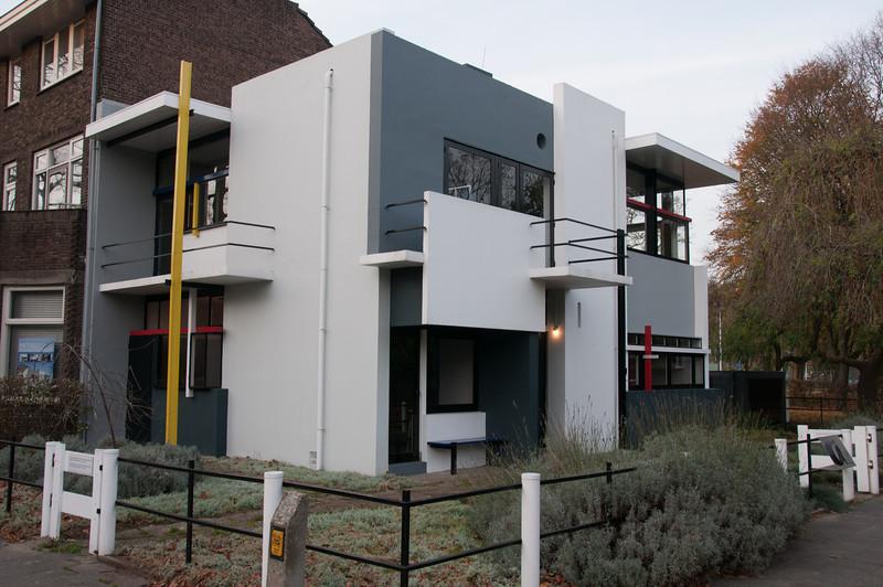Rietveld Schröder House in Utrecht, Netherlands