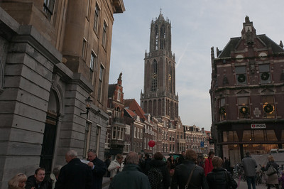 Dom Tower of Utrecht in Netherlands