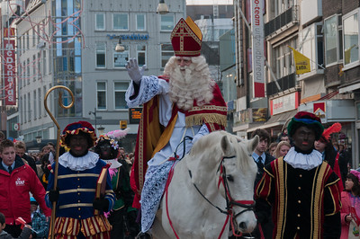 Costume parade in Utrecht, Netherlands