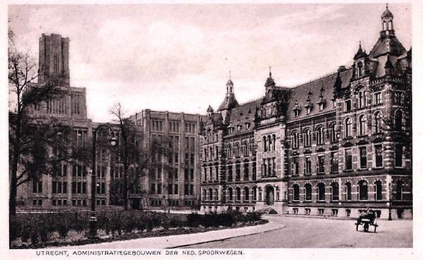 The Dutch Railways Administration Building.