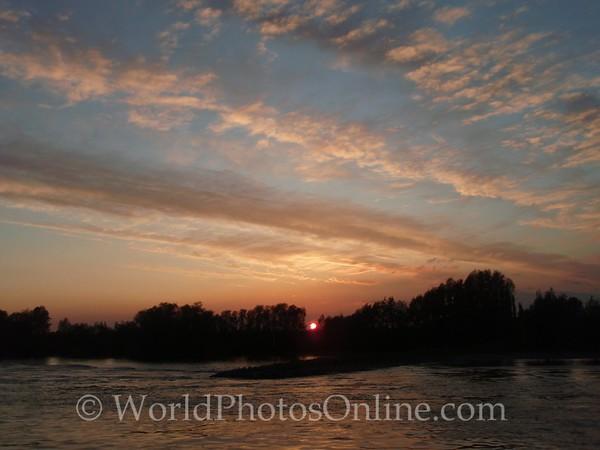 Sunset in Zeeland