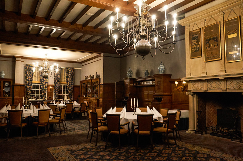 Inside the Landgoed Duin & Kruidberg hotel in the Netherlands