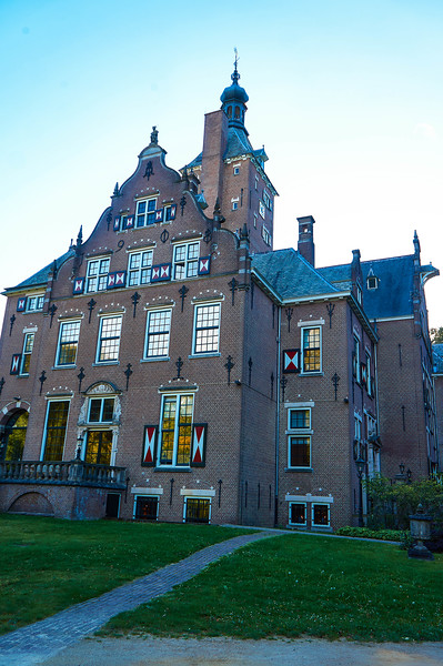 Front of the Landgoed Duin & Kruidberg Hotel in the Netherlands