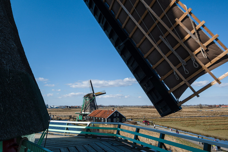 Windmill sails are huge