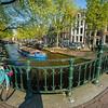 boat bicycles bridge