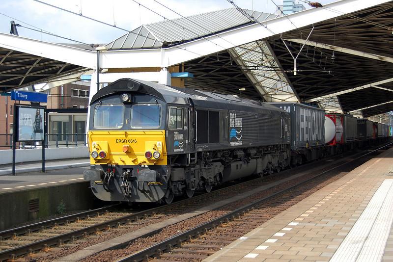 ERS Railways 6616 at Tilburg.