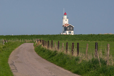 road to Marken Lighthouse