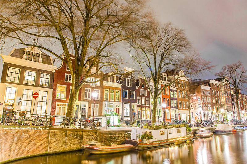 Reguliersgracht, Amsterdam, The Netherlands.
