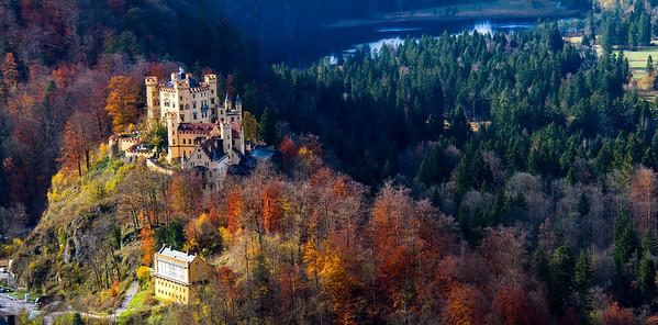 Neuschwanstein & Hohenschwangau Castle, Füssen, Germany