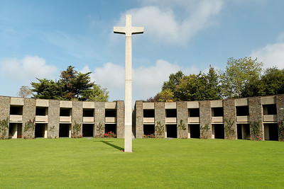 German War Cemetery - About 12,000 soldiers are buried here