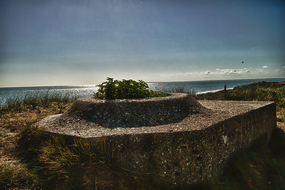 Tobruk overlooking Utah Beach