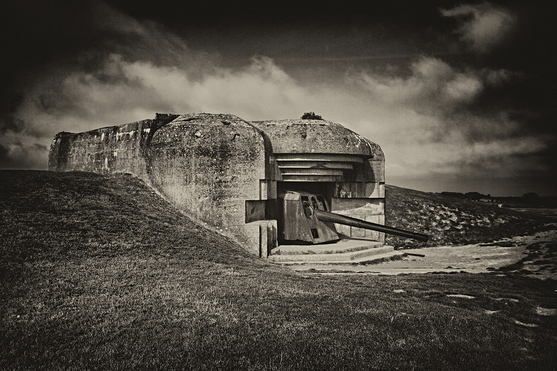 Longues Battery, Normandy