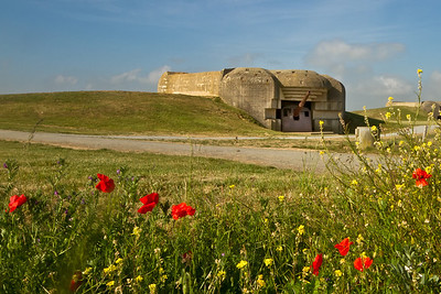 Longues Battery West of Arromanches-les-Bains, Normandy