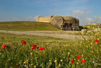 Longues Battery West of Arromanches-les-Bains, Normandy