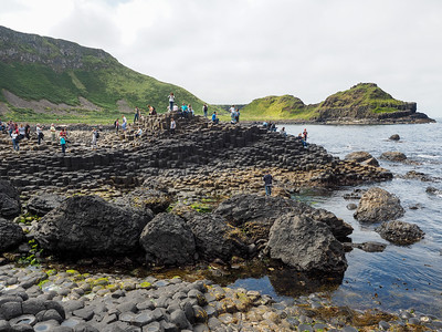 Giant's Causeway in Northern Ireland