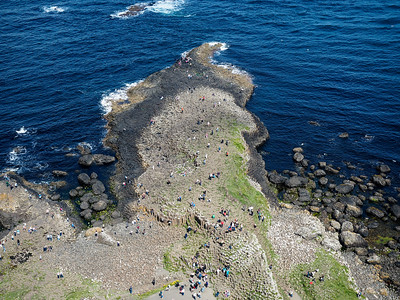 Giant's Causeway from above