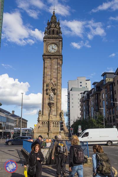Albert Memorial Clock in Belfast (©simon@myeclecticimages.com)