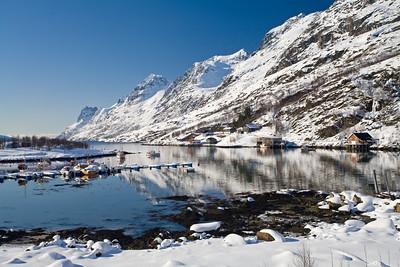 boats at Ersfjordbotn