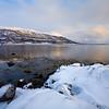 sunset Tromsoysund