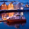 twilight 3 boats Tromso Harbor