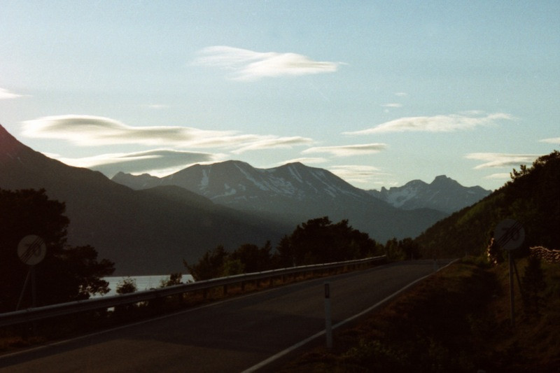 White Nights Dusk in the Fjords - Norway