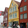 Bergen's colorful wharf area