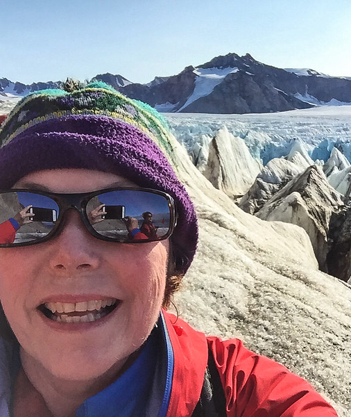 """Hiking 14th July Glacier in Svalbard, Norway. Read more about it: <a href=""""http://myitchytravelfeet.com/2016/08/16/hiking-14th-july-glacier/"""">http://myitchytravelfeet.com/2016/08/16/hiking-14th-july-glacier/</a>"""