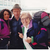 Cy & Betty Roberts saying good bye to Therese & Bruce at the Airport in Toronto