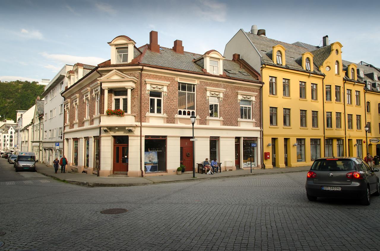 Alesund's Art Nouveau architecture is unique in this part of Norway.