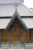 Bergen - Fantoft Stave Church - Entrance