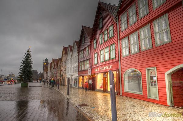 Arriving in Bergen