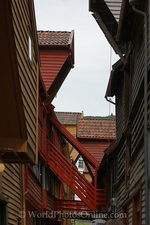 Bergen - Hanseatic League Building - Alley 2