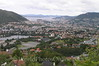 Bergen - View of Bergen from Edvard Grieg's House