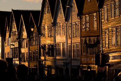 Bergen, Norway - sunset