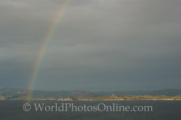 Coastal Sailing between Bergan and Sognefjord - Rainbow