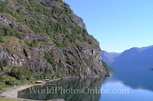 Flam - Aurlandsfjordon