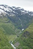 Flam Hike 4 - Hiking trail flowing Flam River