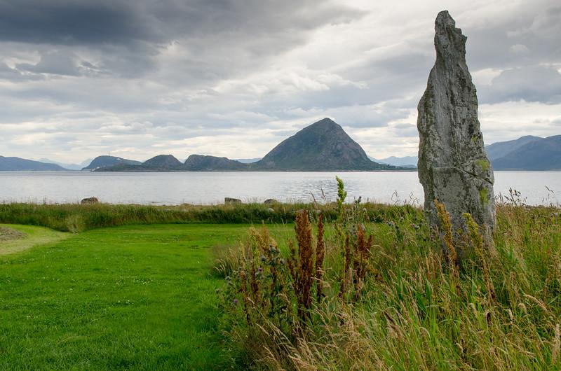 A Menhir or standing stone, Godoya.