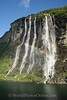 Geiranger Fjord -  Seven Sister Waterfall with Rainbow 1