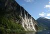Geiranger Fjord -  Seven Sister Waterfall