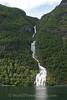 Geiranger Fjord -  Raspberry Waterfall