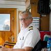 The captain of the ferry Skanevik.