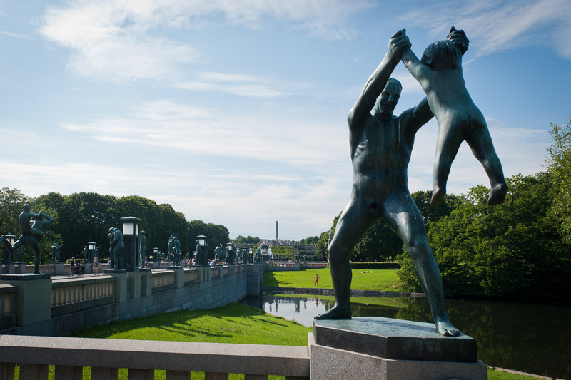 Bronze sculptures by Gustav Vigeland - Oslo