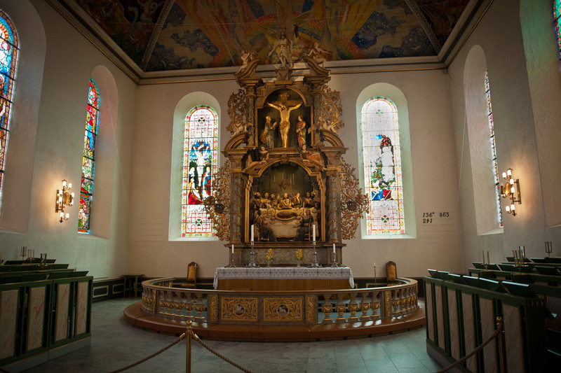 Altar in Oslo Cathedral