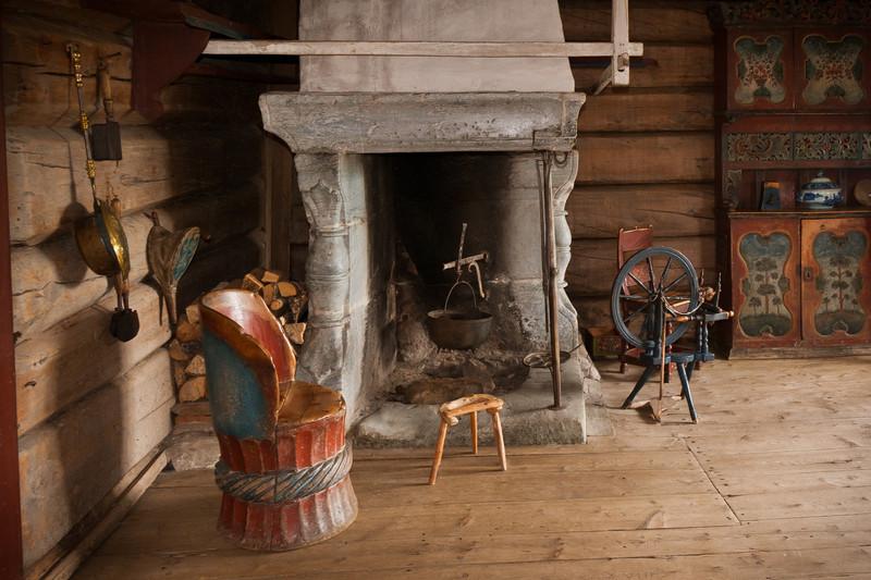 Maihaugen Open-Air Folk Museum - Lillehammer, Norway