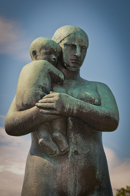 Mother and Child by Gustav Vigeland