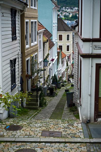 Quiet street, Bergen Norway