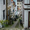Quiet street, Bergen Norway